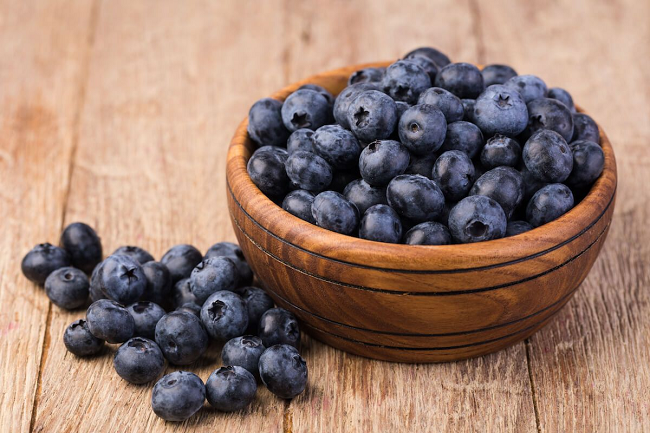 It's the nutritional and efficacy of blueberries.