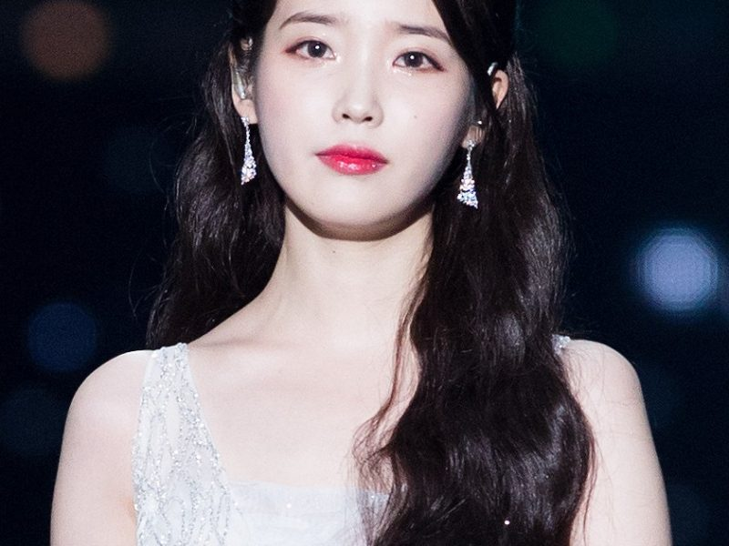 "For Korea famous female singer and actor ""IU"""