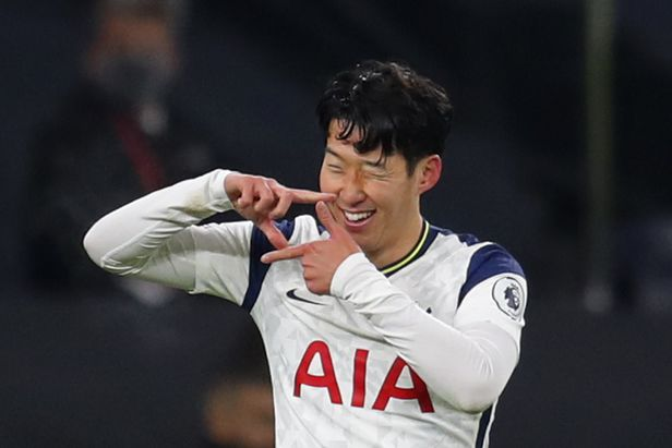Son Heung-min, you can't be humble today.