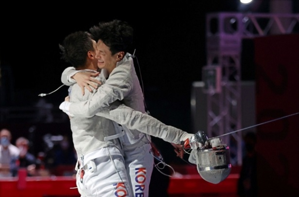 Gu Bon-gil's come-from-behind victory over Germany