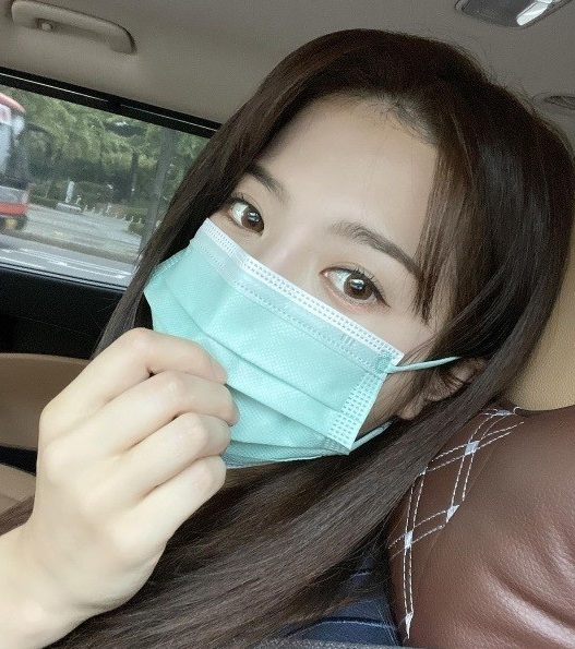 Yang Ji-eun's eyes are so beautiful A true doll beauty