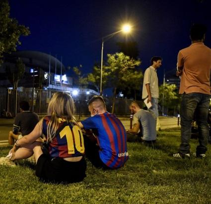 Unbelievable devastated in front of Barsa fans in shock