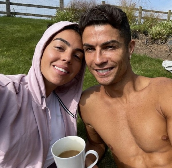 Ronaldo's first daily appearance on his social media