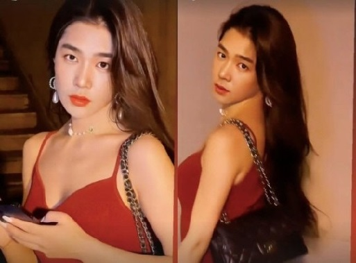 he been transforming into a Kang In woman who left Super Junior?